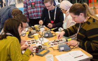 Makers at the Internetdagarna conference