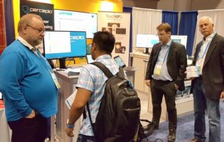 Percepio stand at ArmTechCon