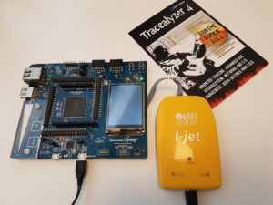 IAR I-Jet and Renesas Synergy board