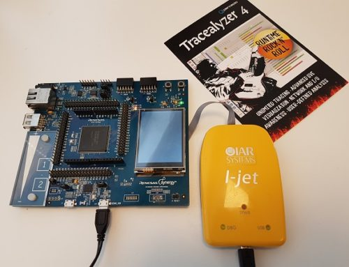Improved Tracealyzer Support for IAR Embedded Workbench and Renesas Synergy MCUs