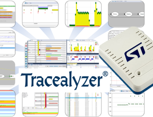 Percepio Announces Tracealyzer Support for STLINK-V3 Debug Probes