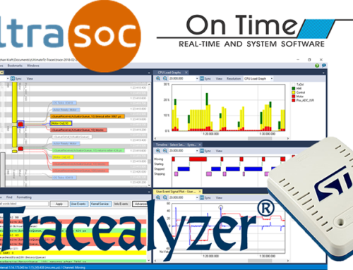 Tracealyzer 4 for On Time RTOS-32 Tops Busy Week at Percepio