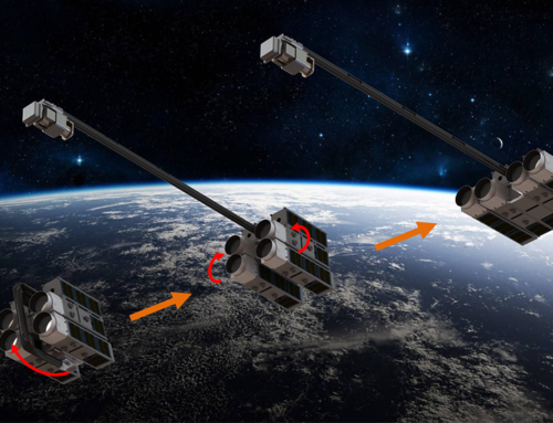 Trace in Space: Self-Assembling Telescopes