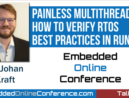 Percepio Presents Painless Multithreading Talk at the Embedded Online Conference