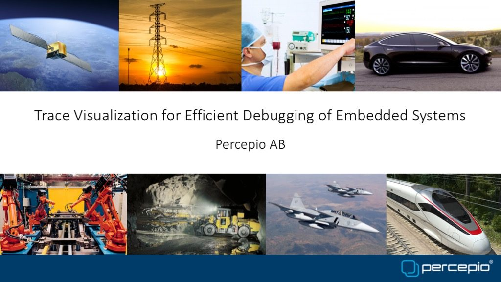 Trace Visualization for Efficient Debugging of Embedded Systems
